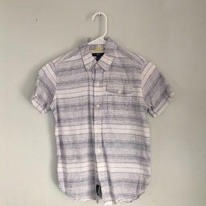 Boys linen shirt sleeve Spring shirt